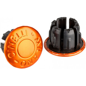 Cinelli Milano Handlebar Ends orange